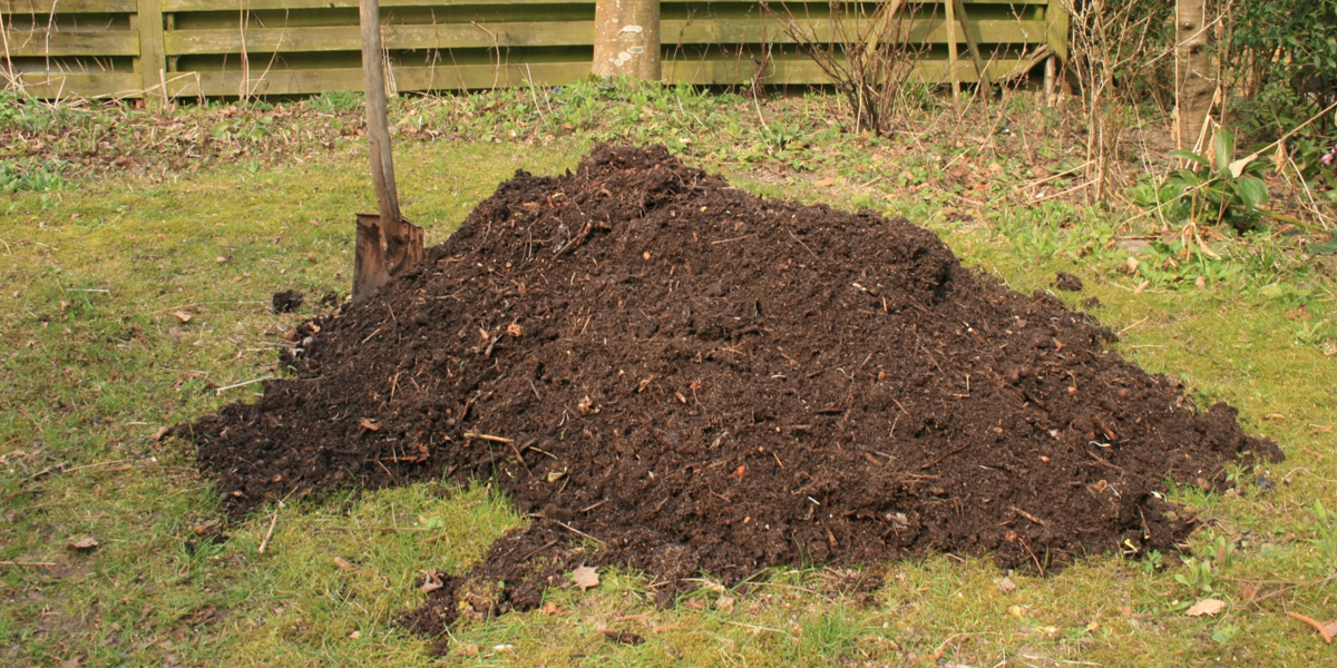 Mulchen met compost