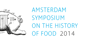 Amsterdam Symposium on the history of food 2014 logo