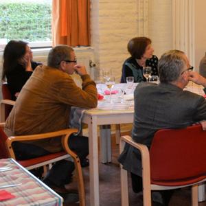 Discutafel deelnemers
