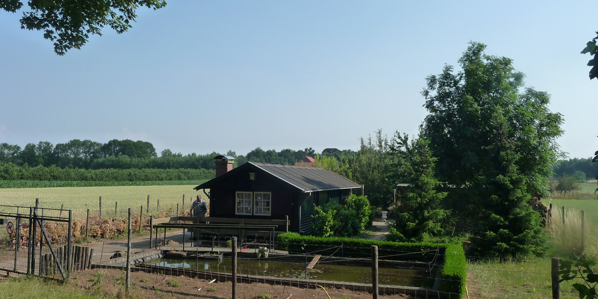Tuinhuis Limburg in juli 2015