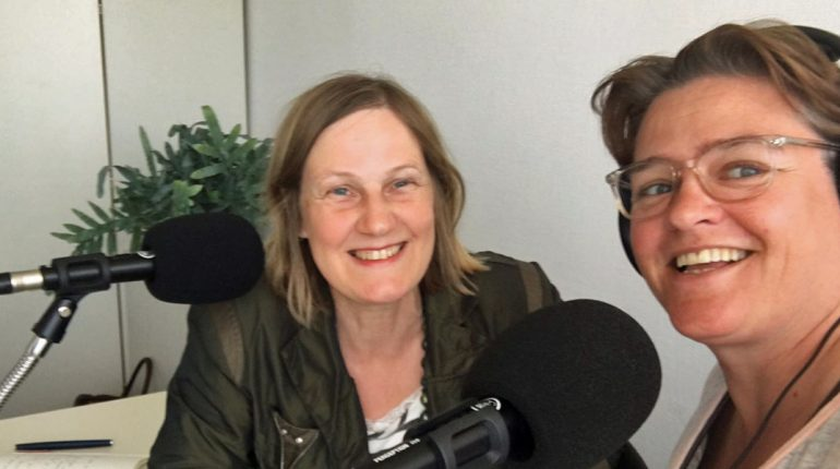 180511 Ivonne Smit en Podcastvrouw Simone Snaterse