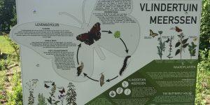 Vlindertuin Meerssen informatiebord