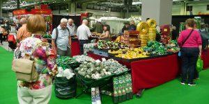 Gardeners' World Live stand met tuinmaterialen