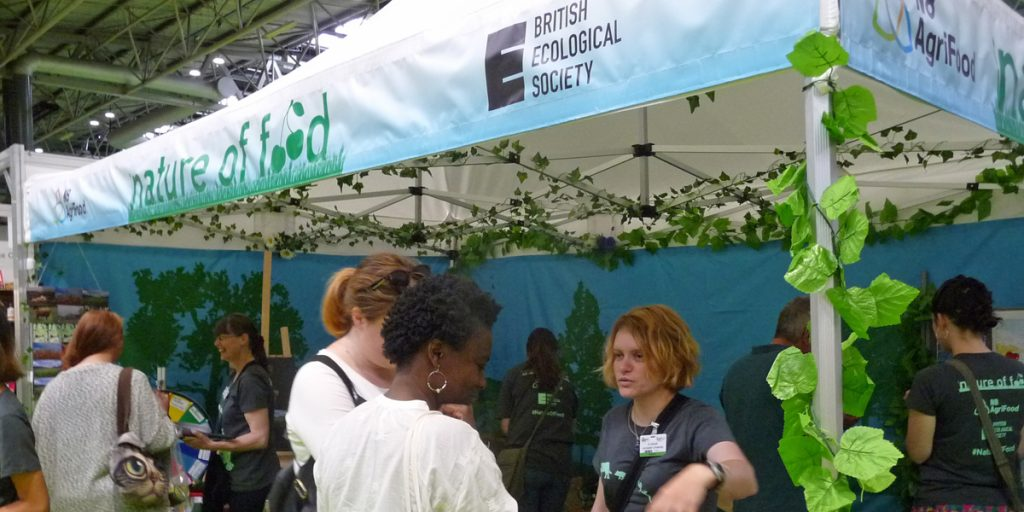 British Ecological Society stand