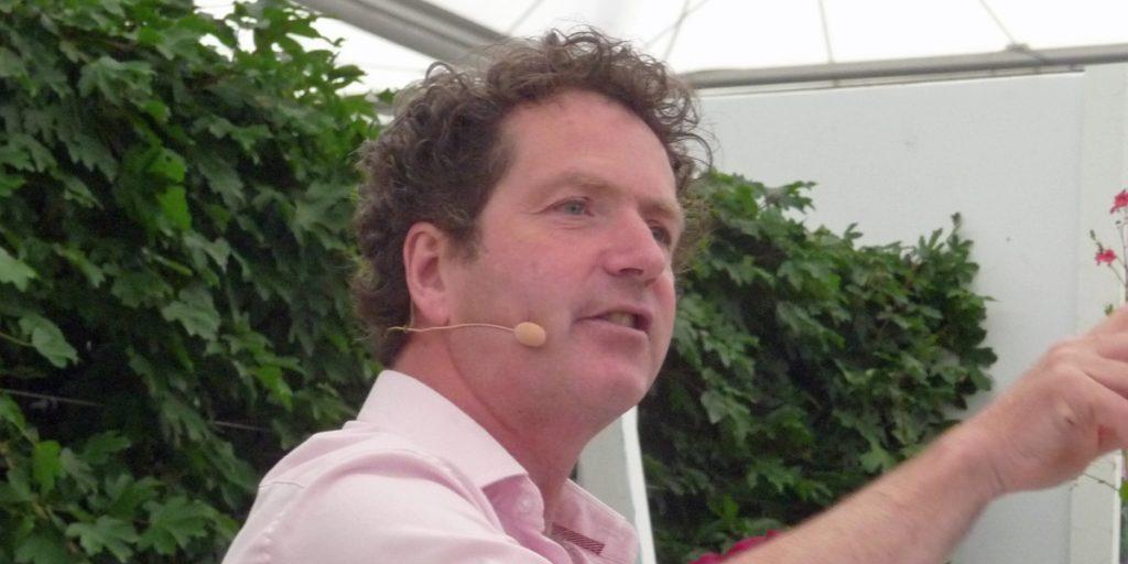 De Ierse tv-tuinontwerper Diarmuid Gavin