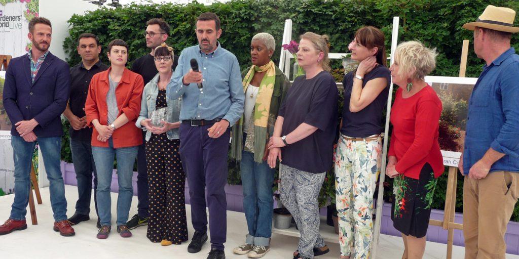 Gardeners' World presenters and ESC competitors