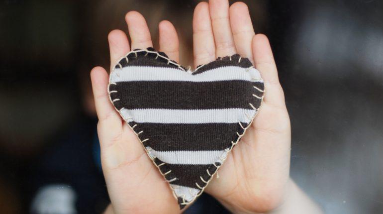 Tuinblogs favoriet hart en handen