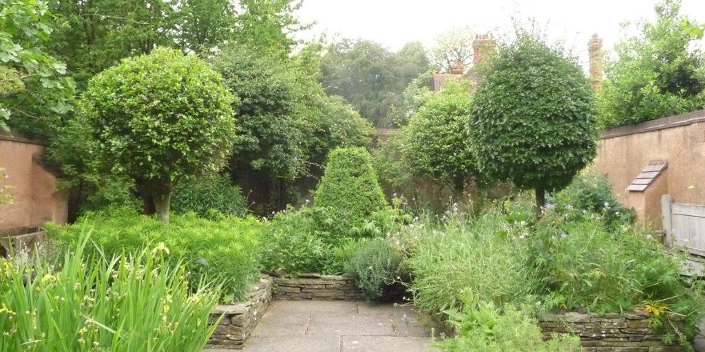 180617 Birmingham Botanical Gardens) Middeleeuwse tuin