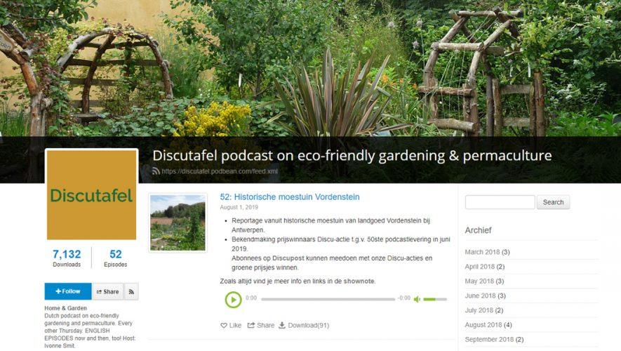 Discutafel podcast op Podbean