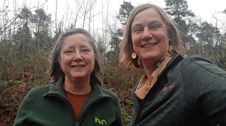 Karin van Toor en Ivonne Smit