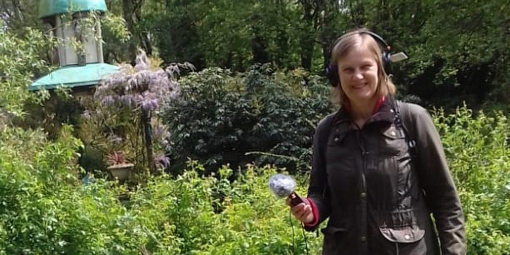Podcaster Ivonne in Levenstuinen