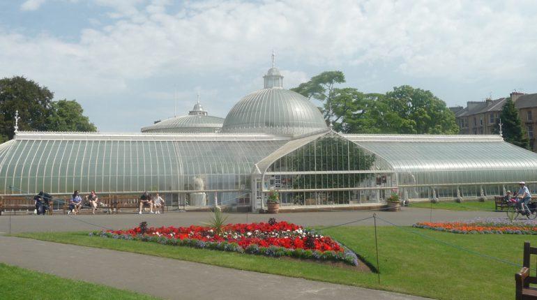 Glasgow Botanic Gardens Kibble Palace