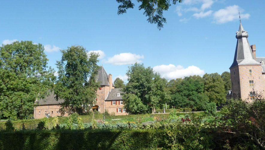 Kasteel Doorwerth en historische groentetuin in september 2018