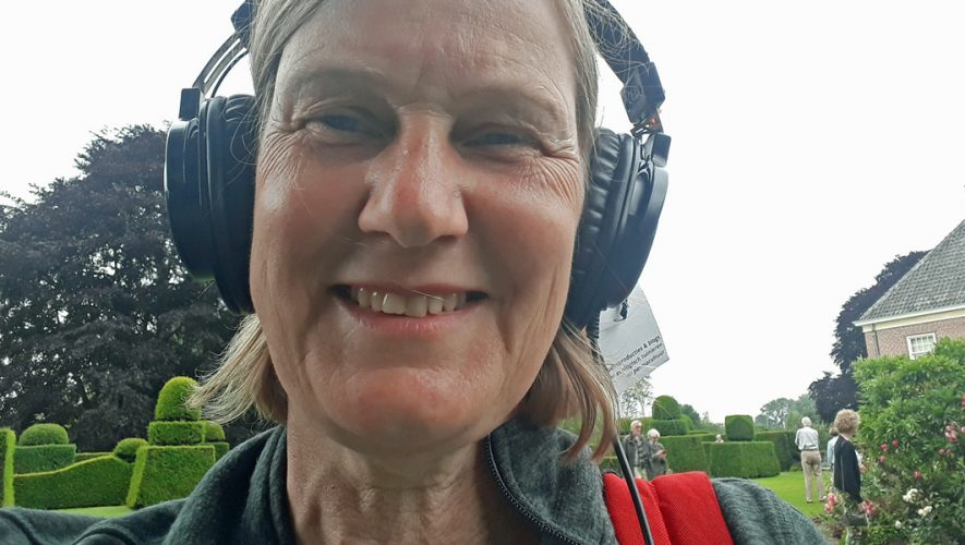 Podcaster Ivonne Smit op Bingerden