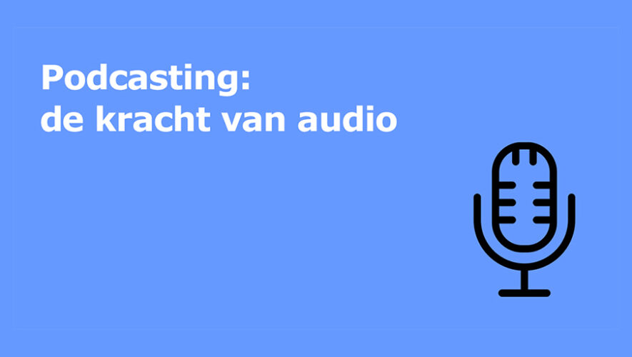 Podcasting de kracht van audio logo training